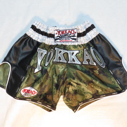 YOKKAO/ヨッカオキックパンツ Green Army Carbon