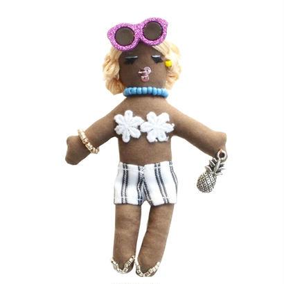 Miniature Show Girl Brooch