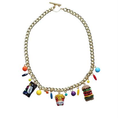 PM3:00 Charm Necklace