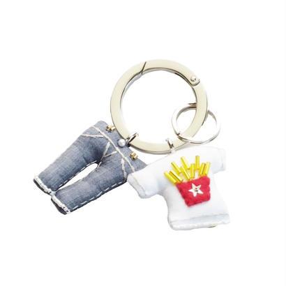Key Ring(Jeans,Potato T-shirt)
