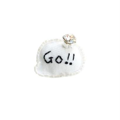 Miniature Balloon Brooch(Go!!)