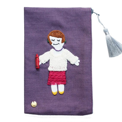 Autumn Pouch (Purple)