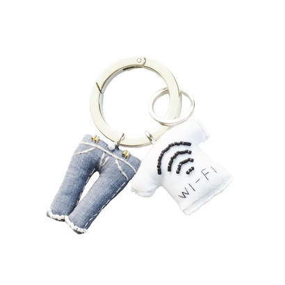 Key Ring(Jeans,Wi-Fi T-shirt)