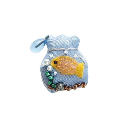 Miniature Fishbowl Brooch
