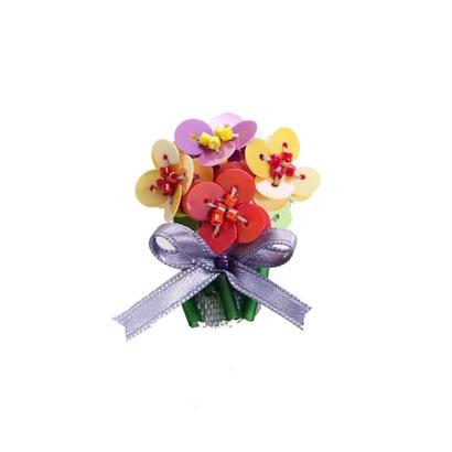 Miniature Bouquet Brooch