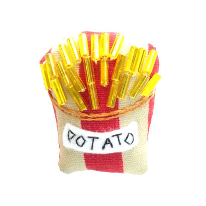 Potato Brooch