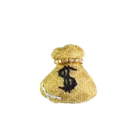 Miniature Money Brooch
