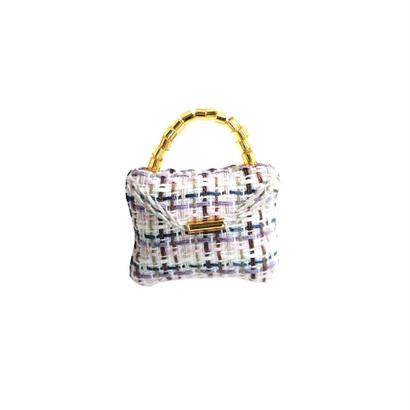 Miniature Bag Brooch