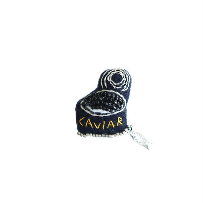 Miniature Caviar Brooch