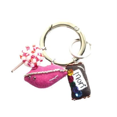 Key Ring(Lollipop,Kiss,Chocolate)