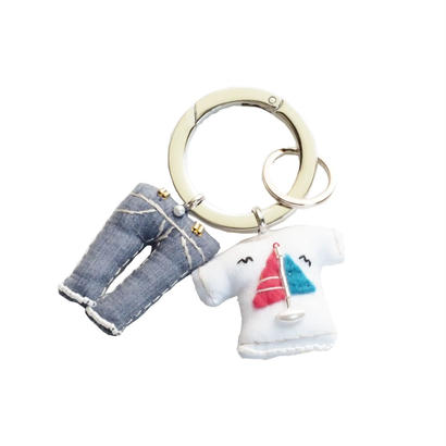 Key Ring(Jeans,Yacht T-shirt)