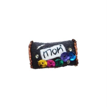 Miniature Chocolate Brooch