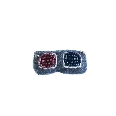 Miniature 3-D Glasses Brooch