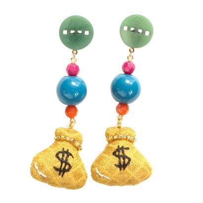 Money Earrings Pierce