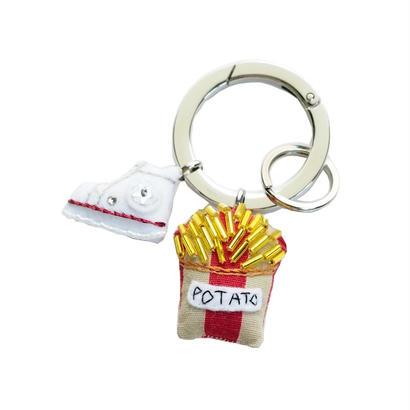 Sneaker & Potato Key Ring
