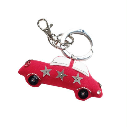 Red Car Bag Charm