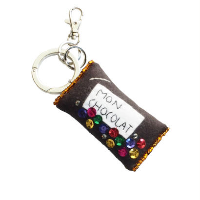 Chocolate Bag Charm