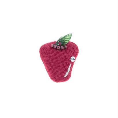 Miniature Apple Brooch