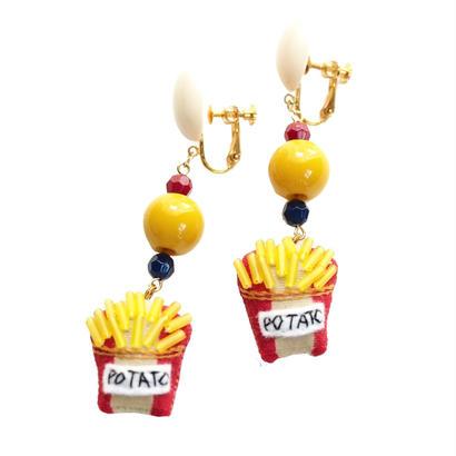 Potato Earrings
