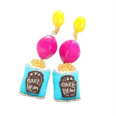 Baked Beans Earrings
