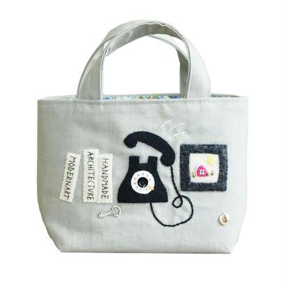 Tote Bag(Phone/gray)