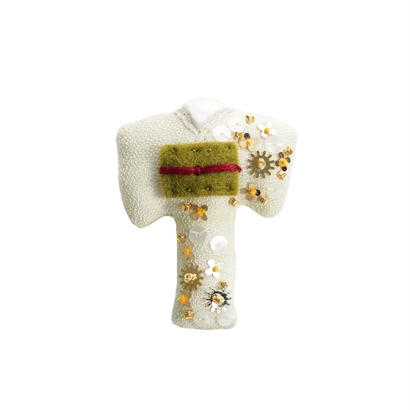 Miniature Kimono Brooch
