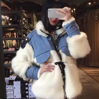 Fur💙Skyjacket