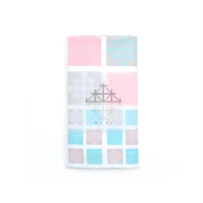 "【TEXTILE】生地 ""雪"":ピンク"