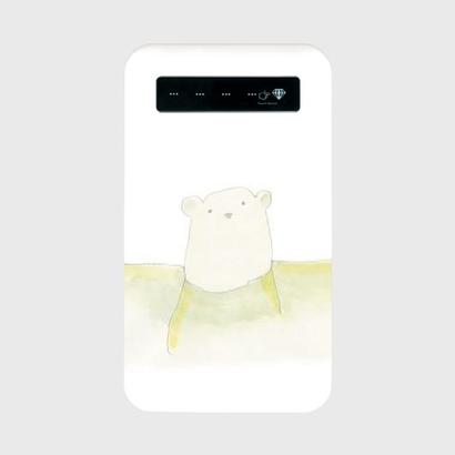 上野動物園のしろくまモバイルバッテリー