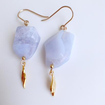 blue lace × leaf pierce PI160218