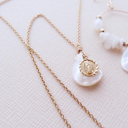 shell×maria necklace NE160201