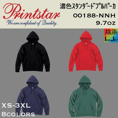 Printstar プリントスター 濃色スタンダードプルパーカー(抜染プリント) 00188-NNH 【本体+プリント代】10月限定クーポン利用で表示価格より10%オフ