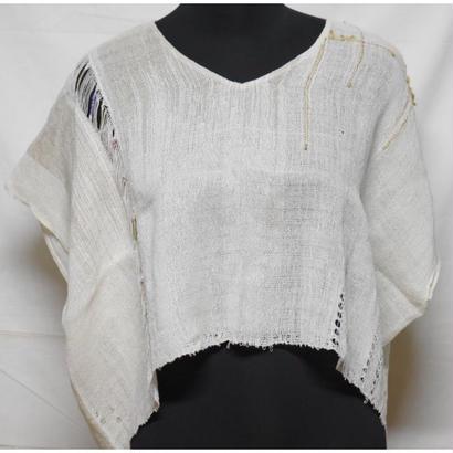 絡み織りプルオーバー designed pullover