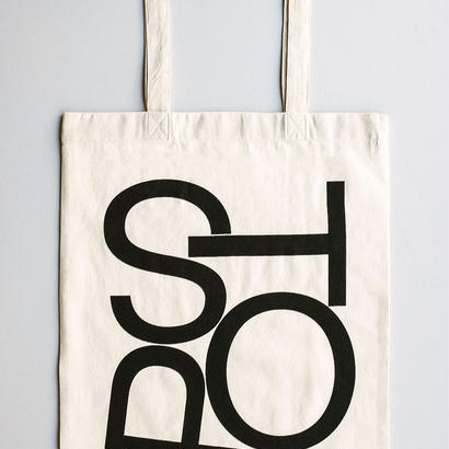 [POST/SPOT/STOP] Tote Bag designed by Experimental Jetset Revised Edition
