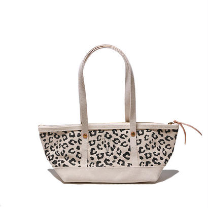 【THE SUPERIOR LABOR for woman】leopard boat bag S(レオパード ボート バッグS)