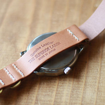 【THE SUPERIOR LABOR】 NATO type watch belt