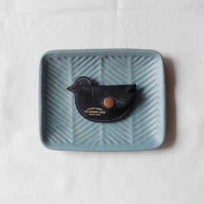 【THE SUPERIOR LABOR 】bridle bird coin case-black