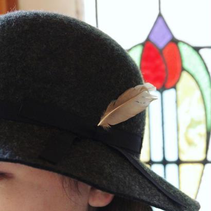 【HACHIGAHANA】plume hat (プリュームハット)
