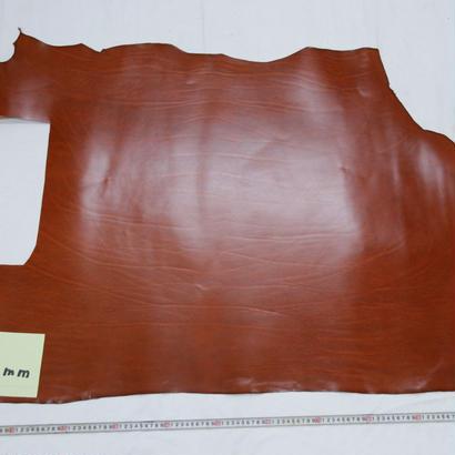 ルガトショルダー大判端革  茶1.1mm