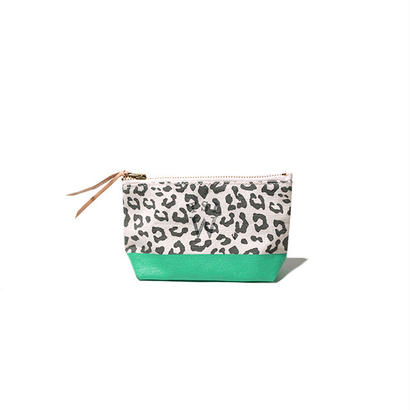 【THE SUPERIOR LABOR for woman】leopard pouch S(レオパード ポーチ S)
