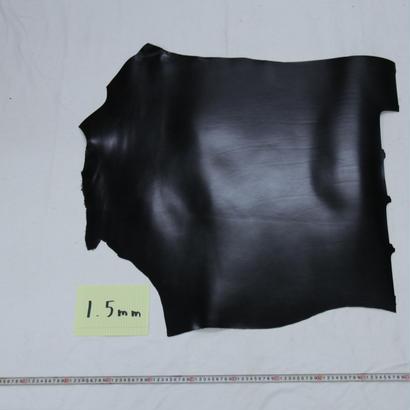 ルガトショルダー大判端革  黒1.5mm