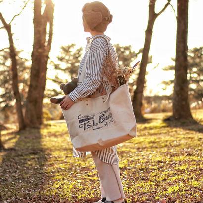 【T.S.L CUB】camping tote bag