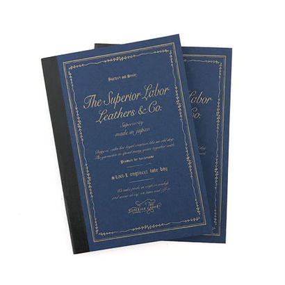 【THE SUPERIOR LABOR HOME LAND】sperior note 2set(シュペーリオールノート 2冊セット)