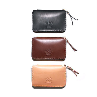 【THE SUPERIOR LABOR 】zip middle wallet