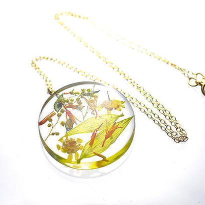 Beautiful Nature【Single Circle】ペンダント 14kgf