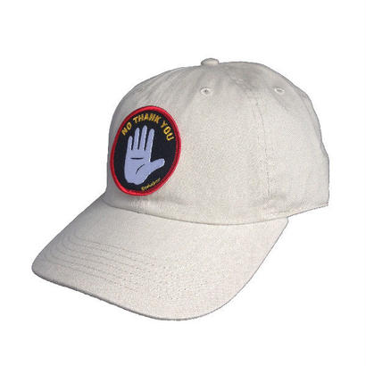"""NO THANK YOU"" 6PANEL B.B. CAP"