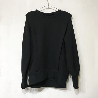 TACK SWEAT TOPS / BLACK