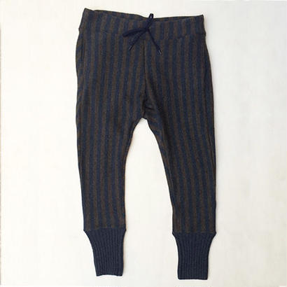 SHIMASHIMA PANTS / NAVY×BROWN