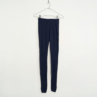 """PITATTO"" LEGGINGS / LOGWOOD NAVY"