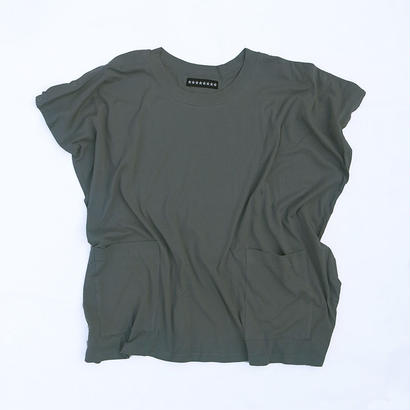 """""""NO SLEEVE"""" T/CHARCOAL GRAY"""